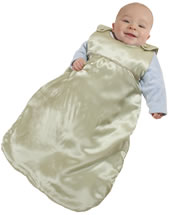 Baby sleepsack - sleep sack - royal silk is the perfect baby gift.