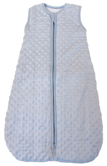 Minky Blue Summer Model Front Zipper